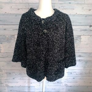 Style and Co babydoll cardigan